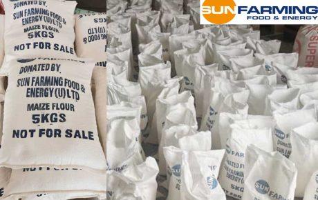 3,5 Tonnen Maismehl für Uganda